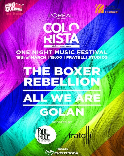 The Boxer Rebellion, All We Are, Golan